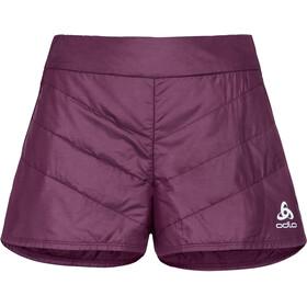6b64260fa50 Odlo Irbis - Pantalones cortos running Mujer - rojo